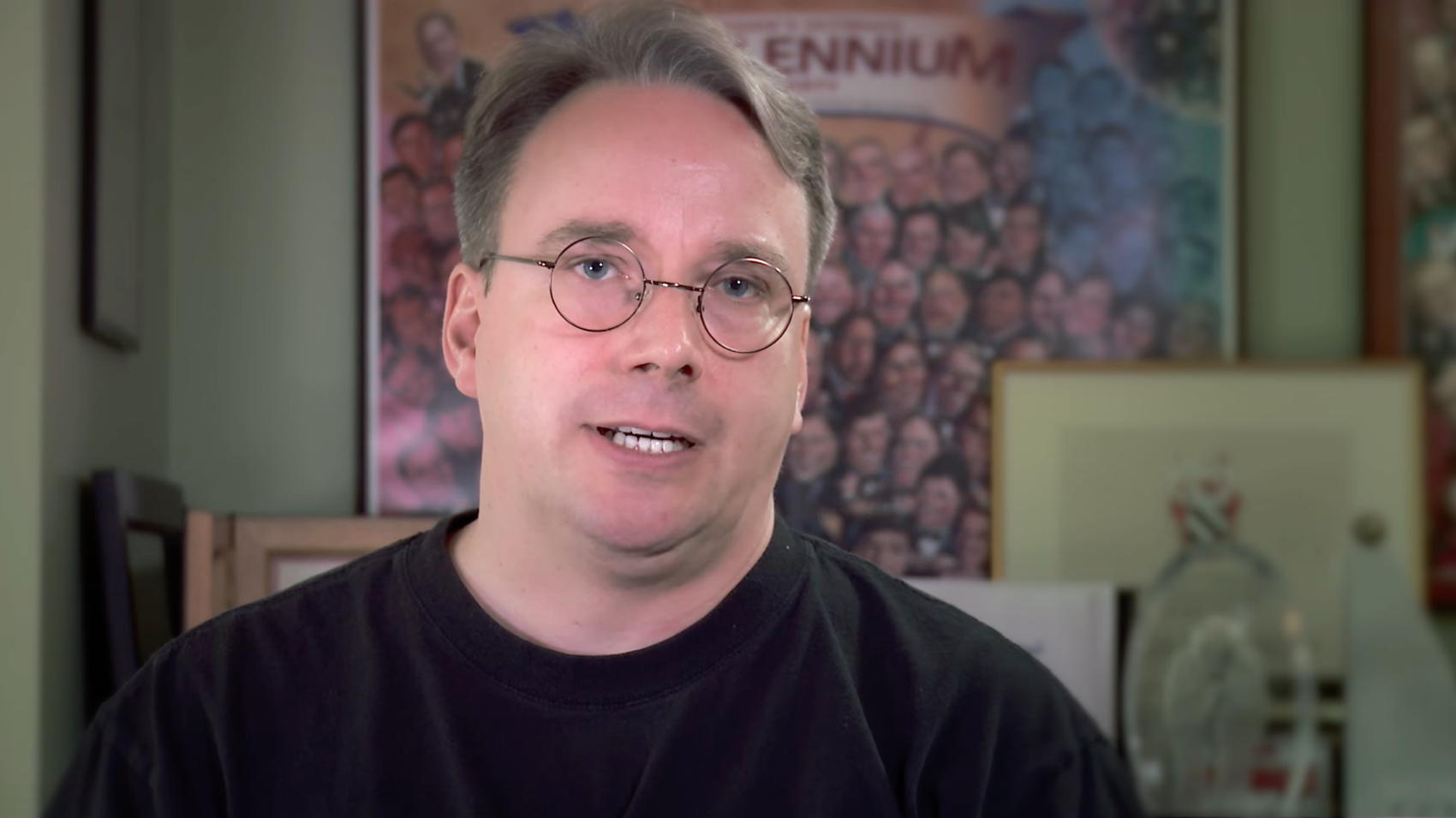 Linus Torvalds - Credit The Linux Foundation