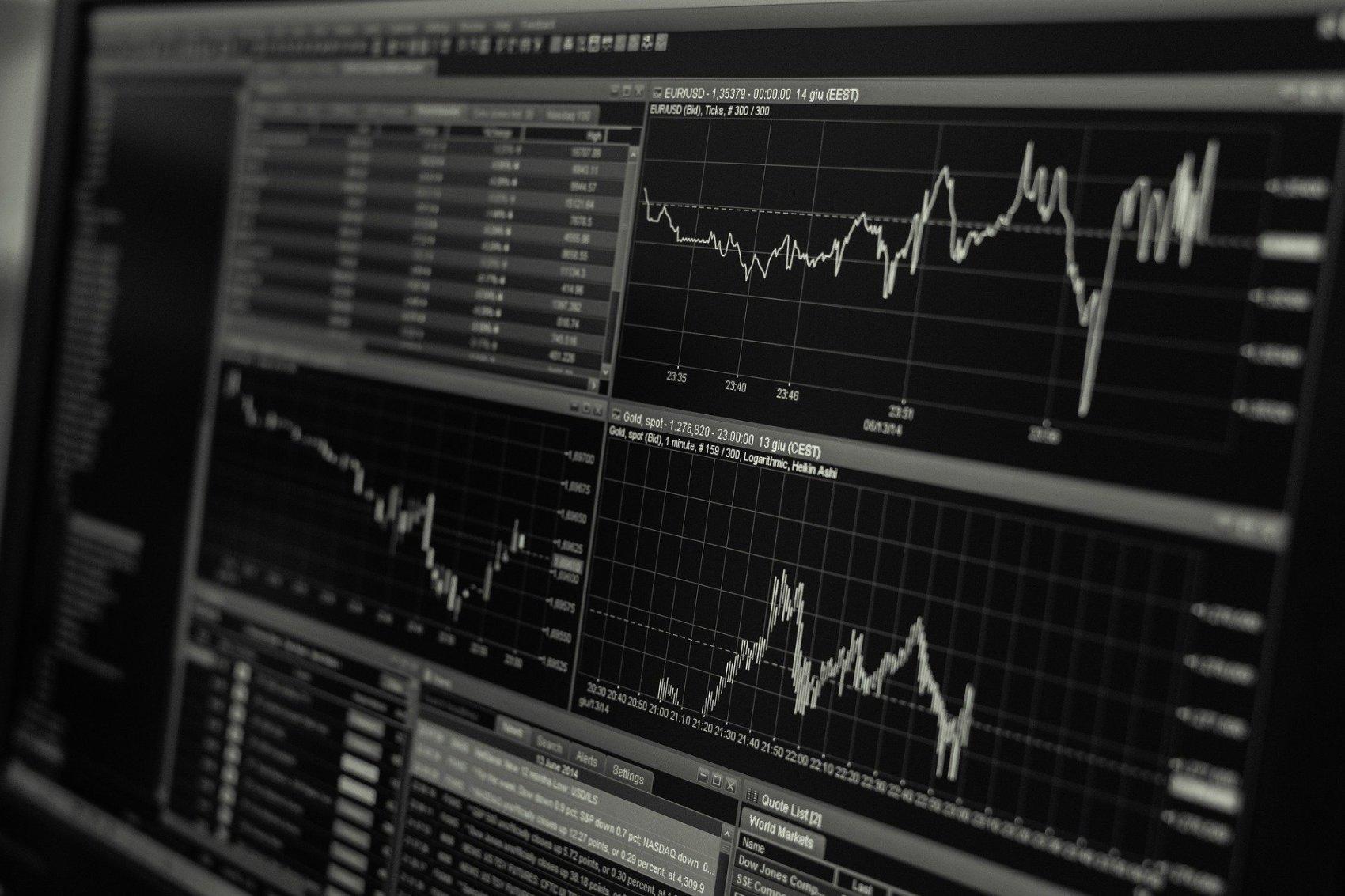 Stock Trading Monitor - Image by Lorenzo Cafaro