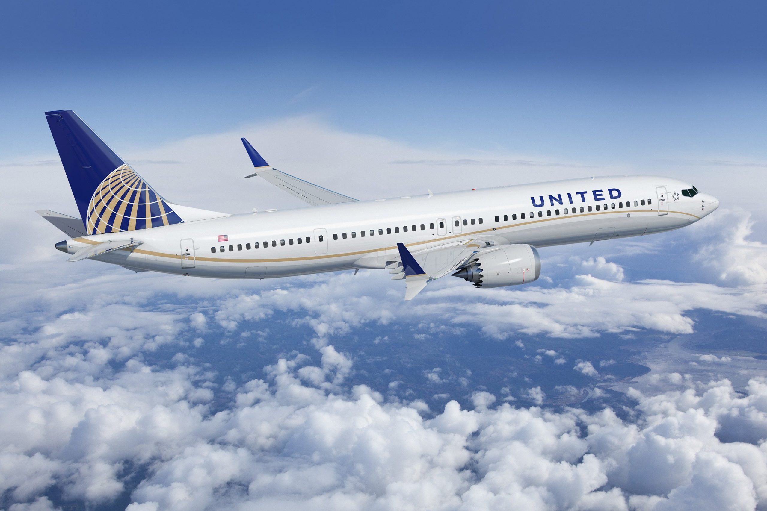 United Airlines Aircraft - Credit United Airlines