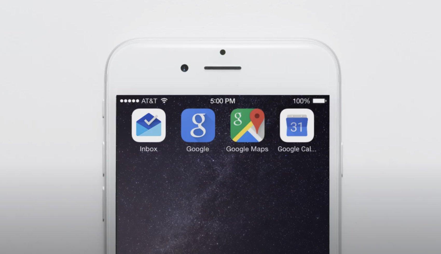 Google iOS Apps