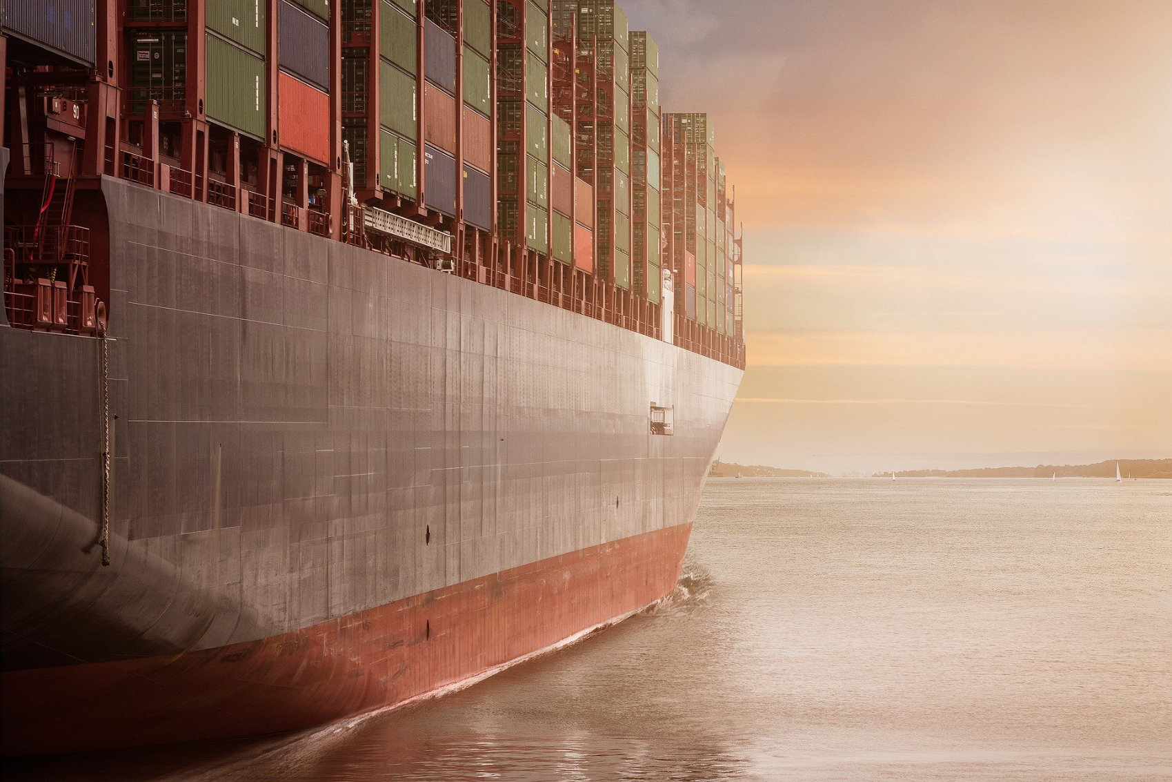 Container Ship - Image by Alexander Kliem
