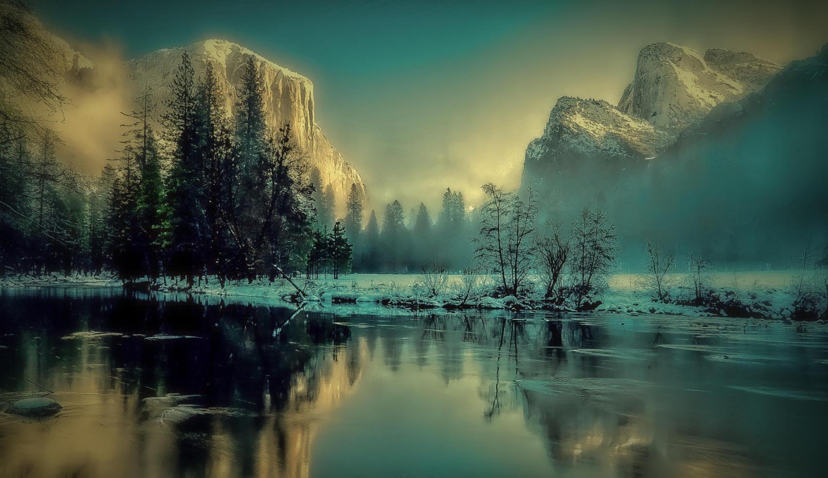 Yosemite Park Landscape - Image by Gerd Altmann