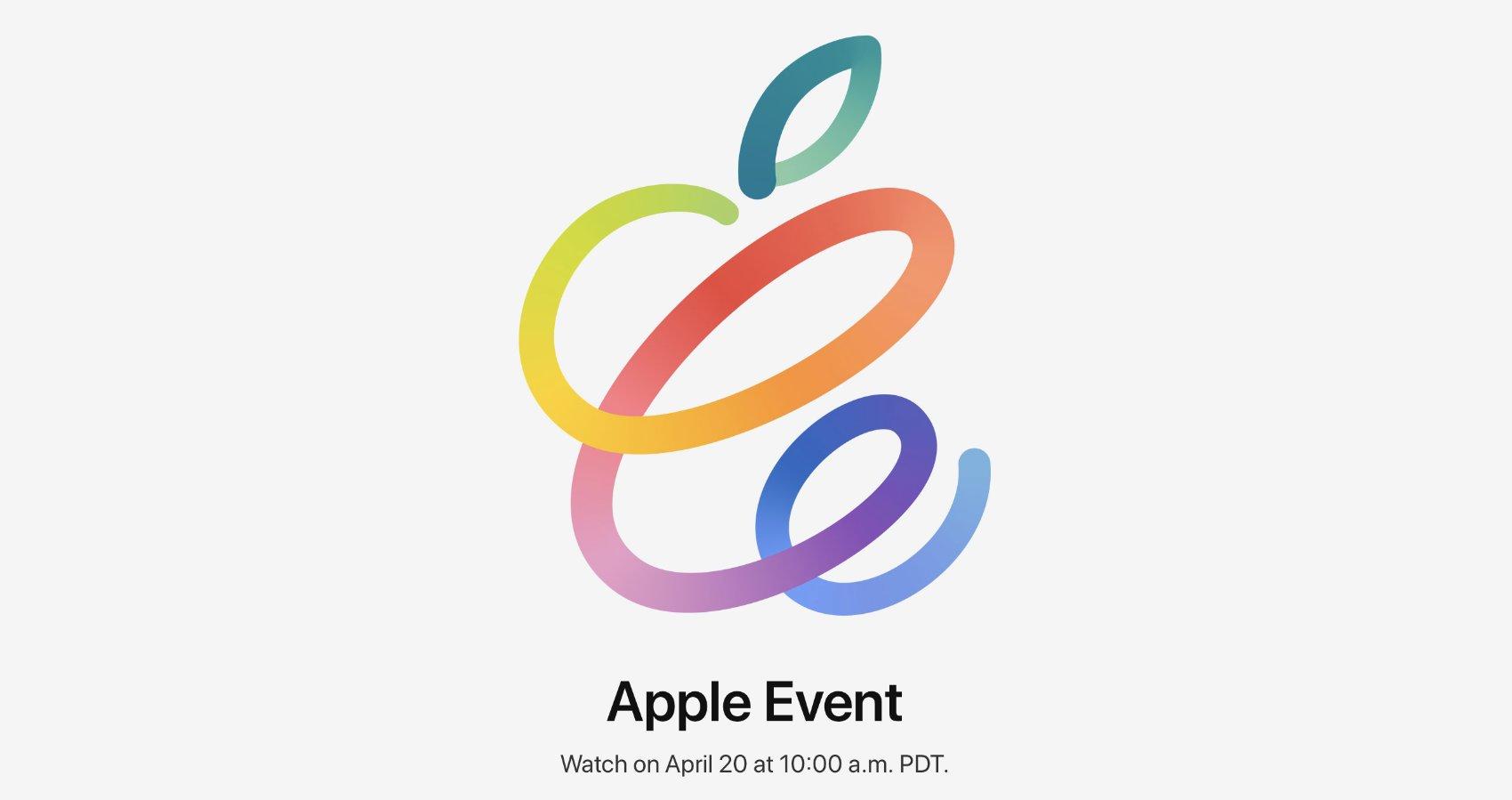 Apple Event April 20