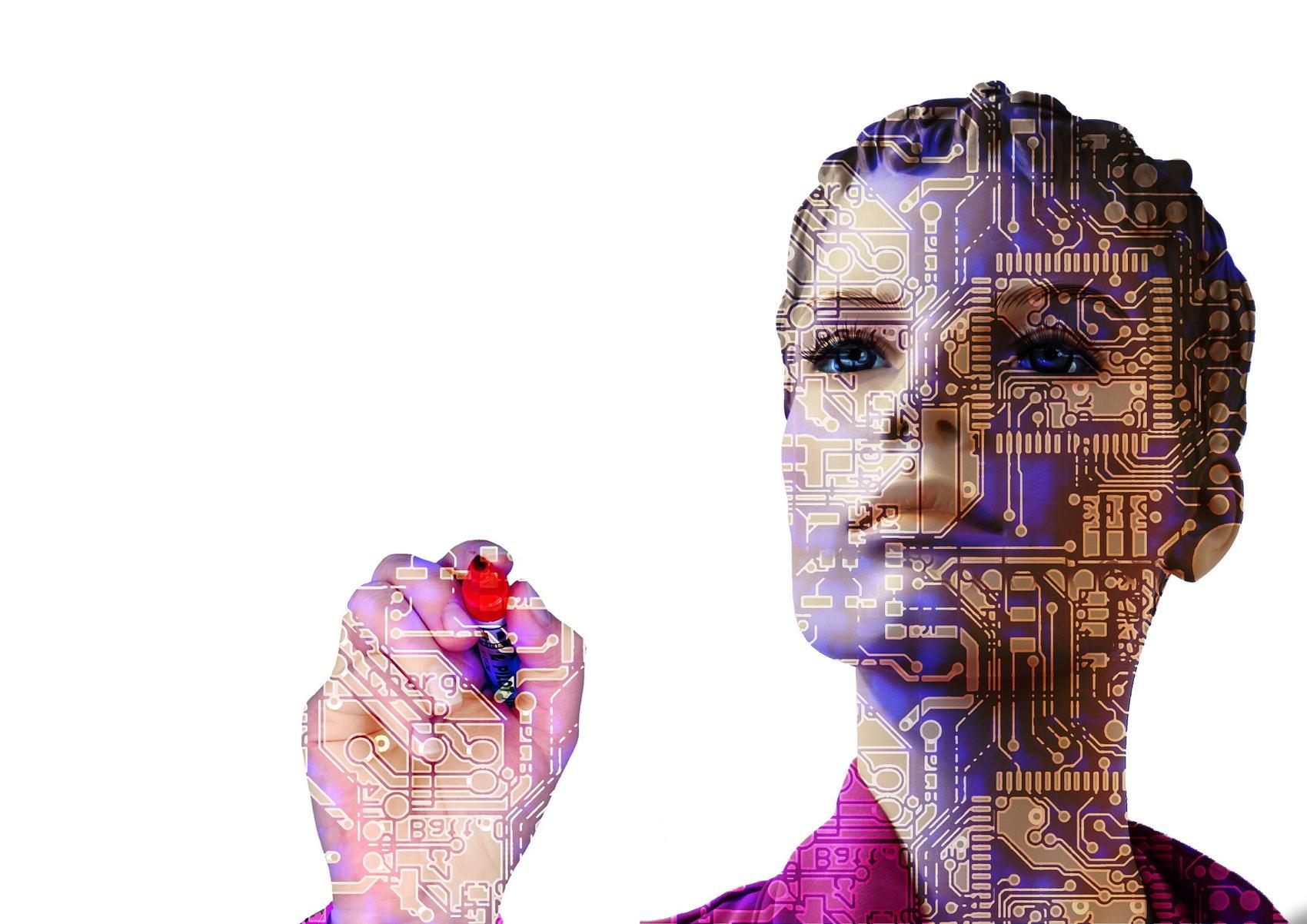 AI Artist - Image by Gerd Altmann