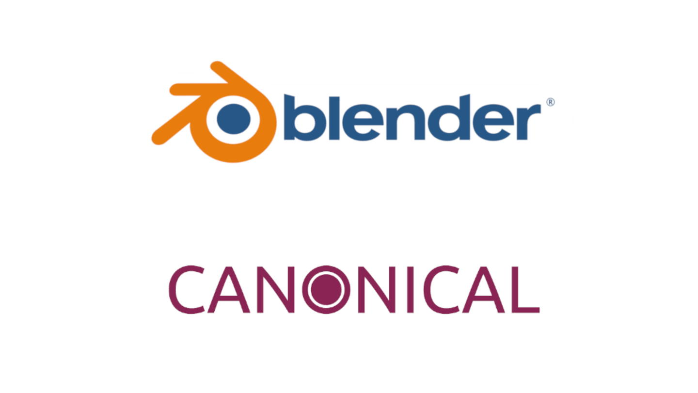 Canonical and Blender - Credit Canonical