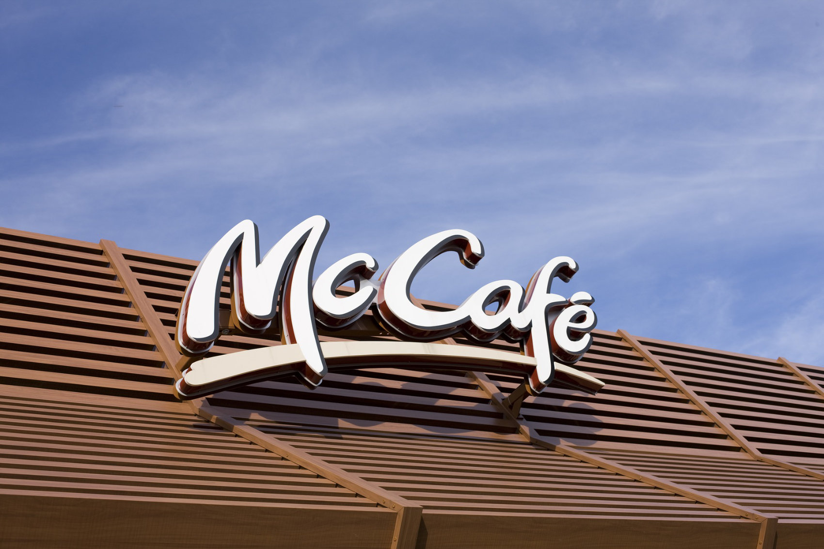 McCafe Sign - Image by andreas160578
