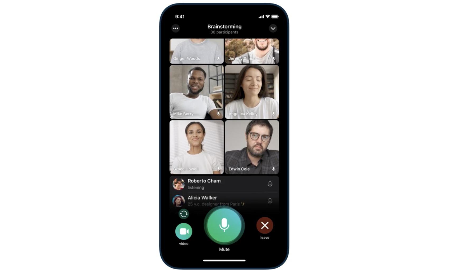 Telegram Group Video Calls - Credit Telegram