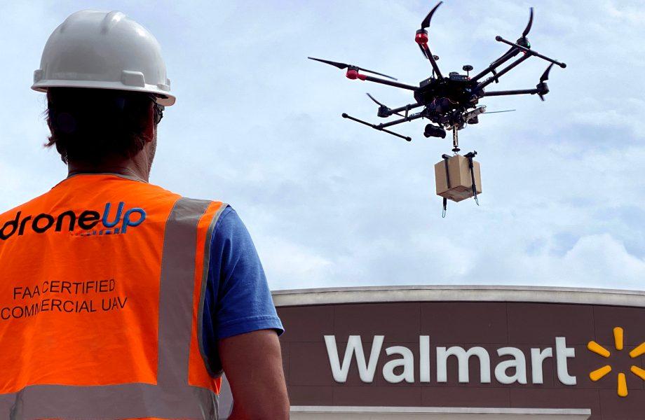 Walmart & DroneUp - Credit Walmart