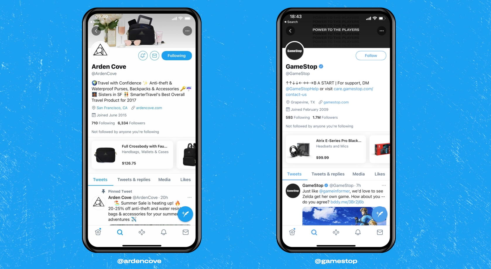 Twitter Shop Module - Credit Twitter