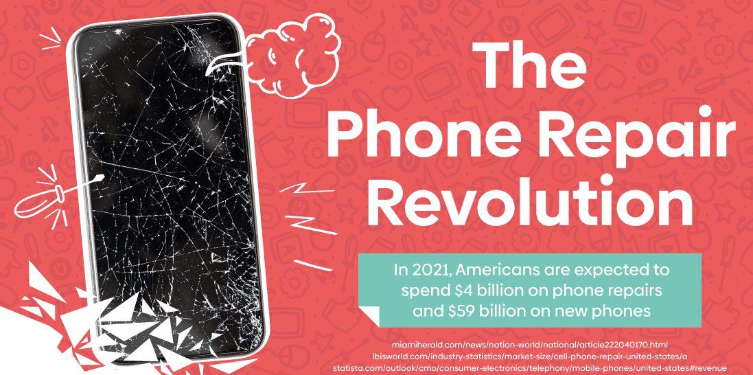 phone repair economy