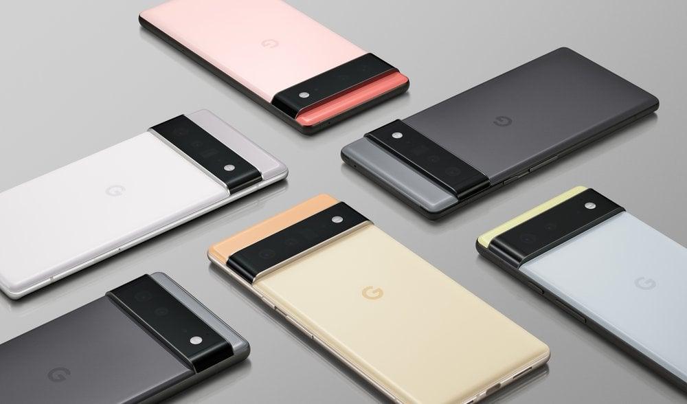 Google Pixel 6 Portfolio - Credit Google