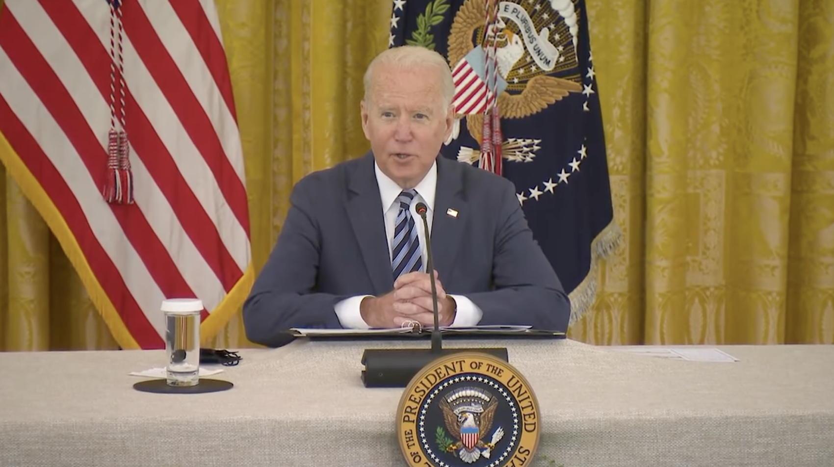 President Joe Biden on Cybersecurity