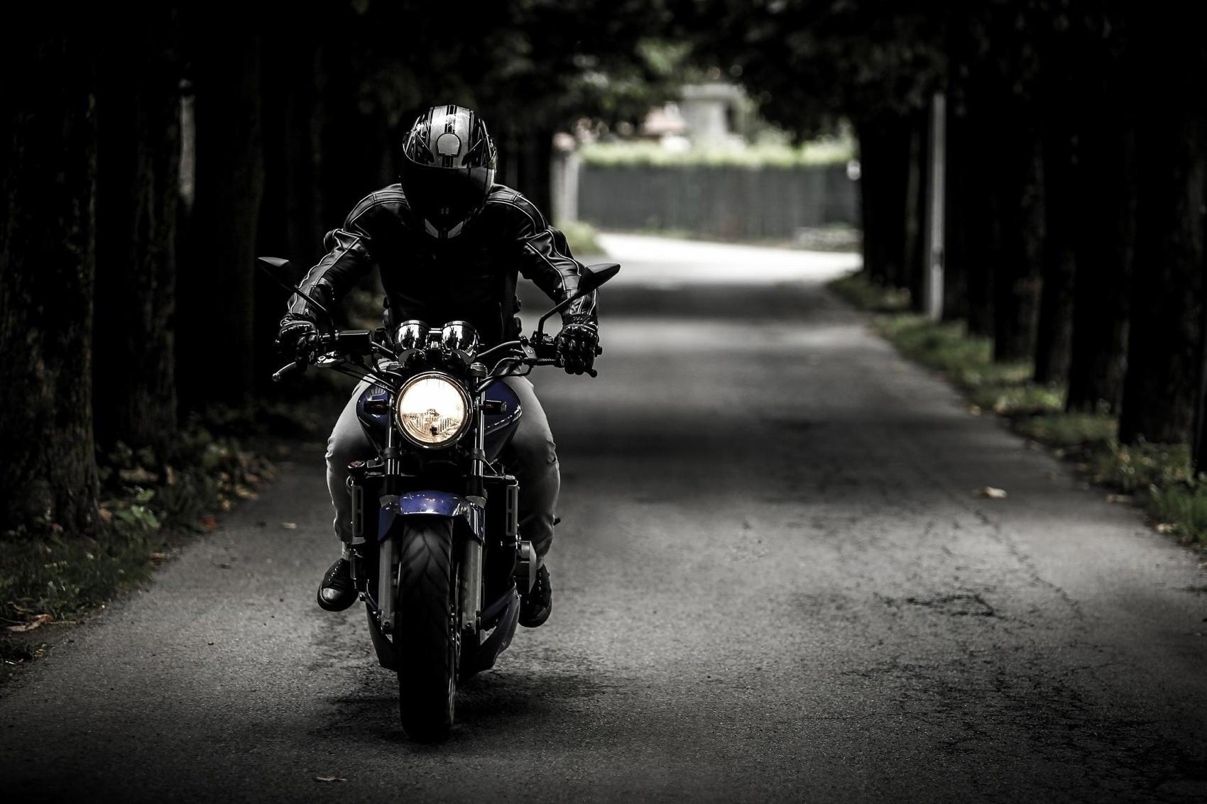 Biker - Image by SplitShire