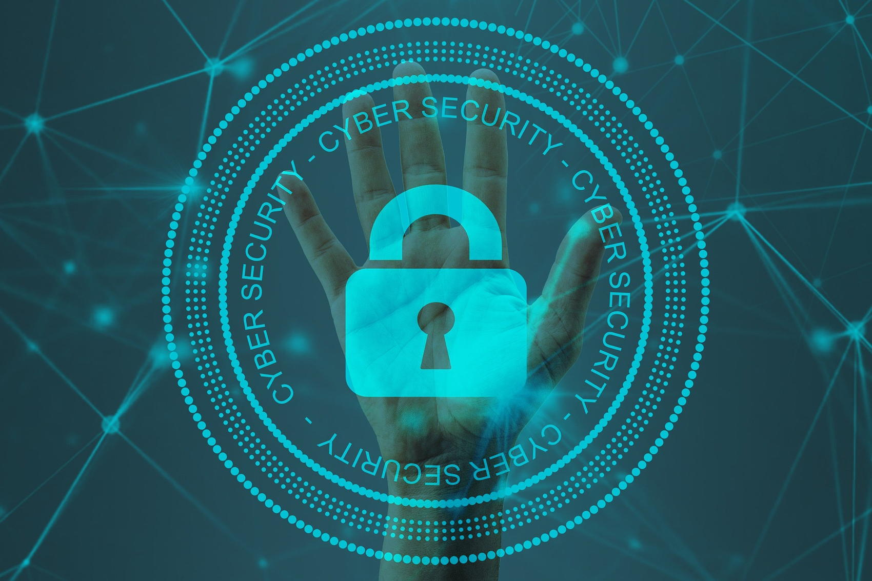 Cybersecurity - Image by Pete Linforth