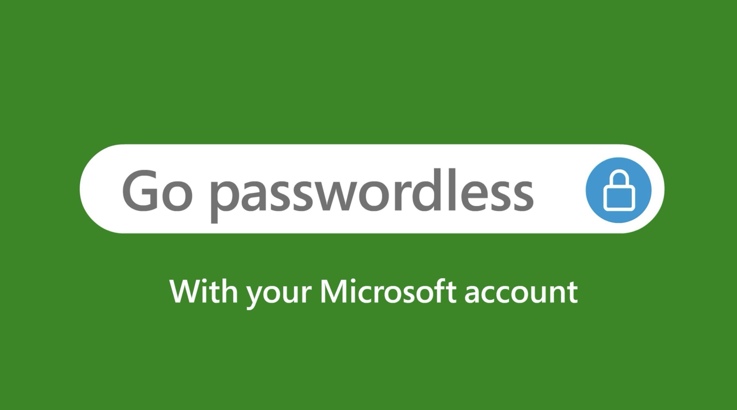 Go Passwordless With Microsoft - Credit Microsoft