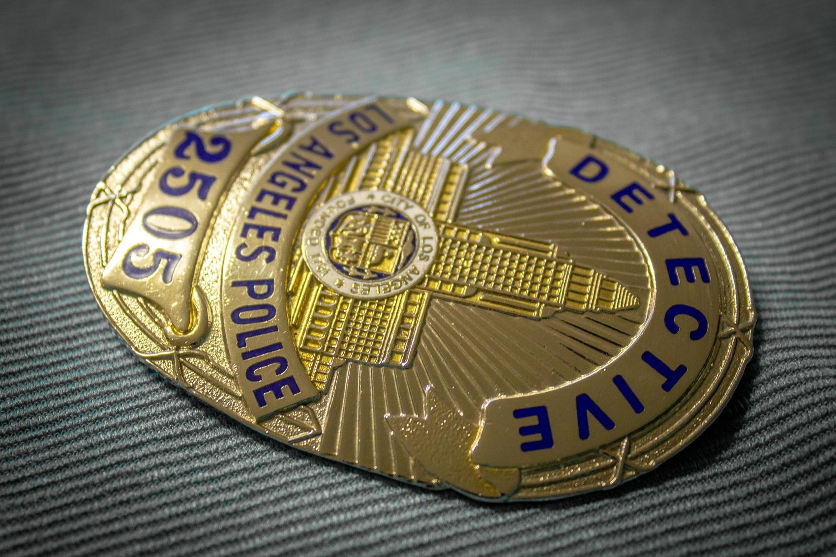 LAPD Detective Badge - Image by Vladan Rajkovic