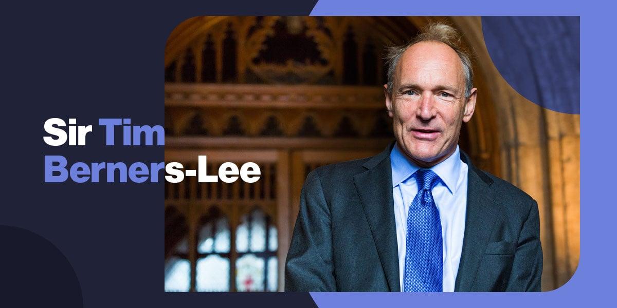 Sir Tim Berners-Lee - Credit ProtonMail