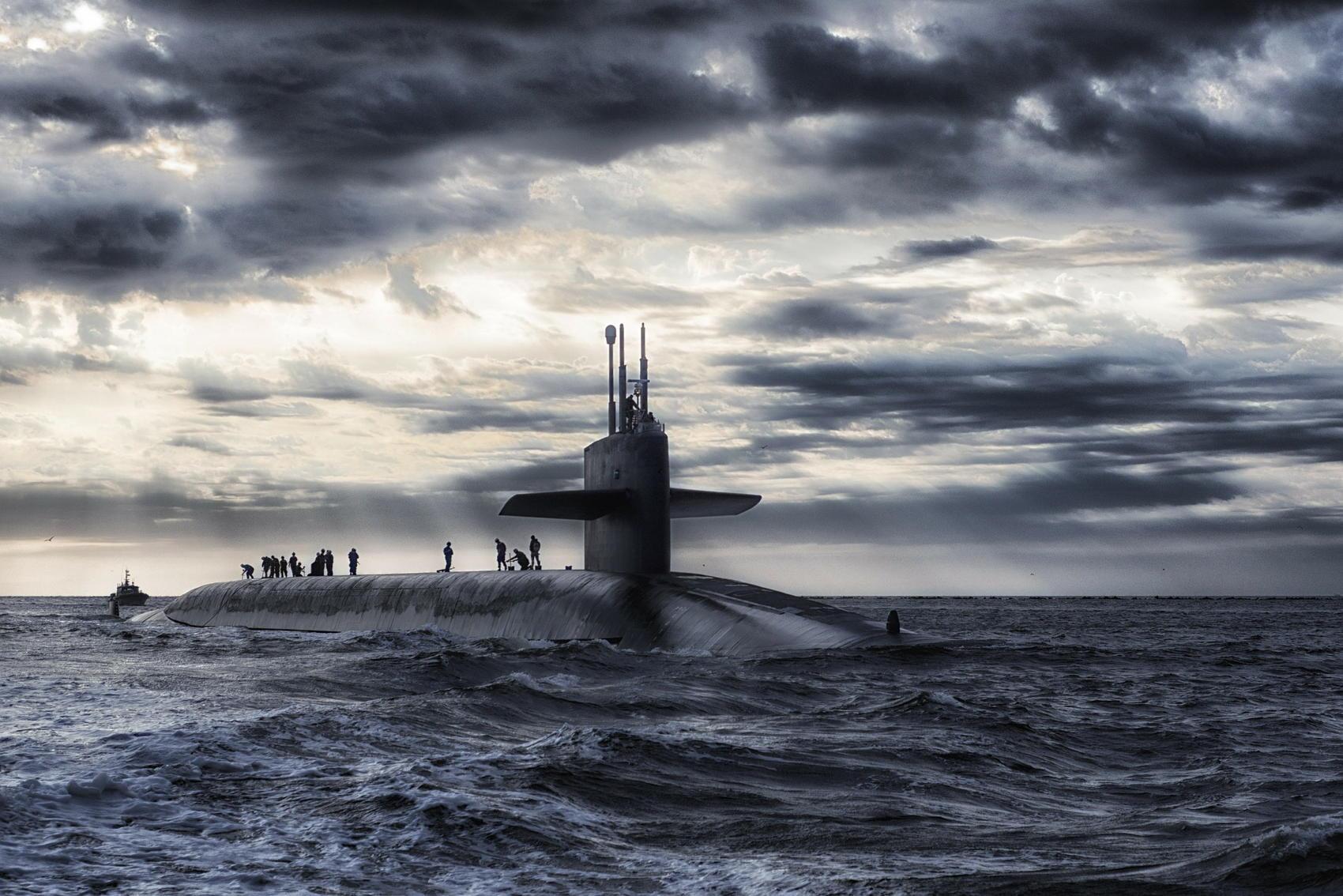 Submarine - Image by David Mark
