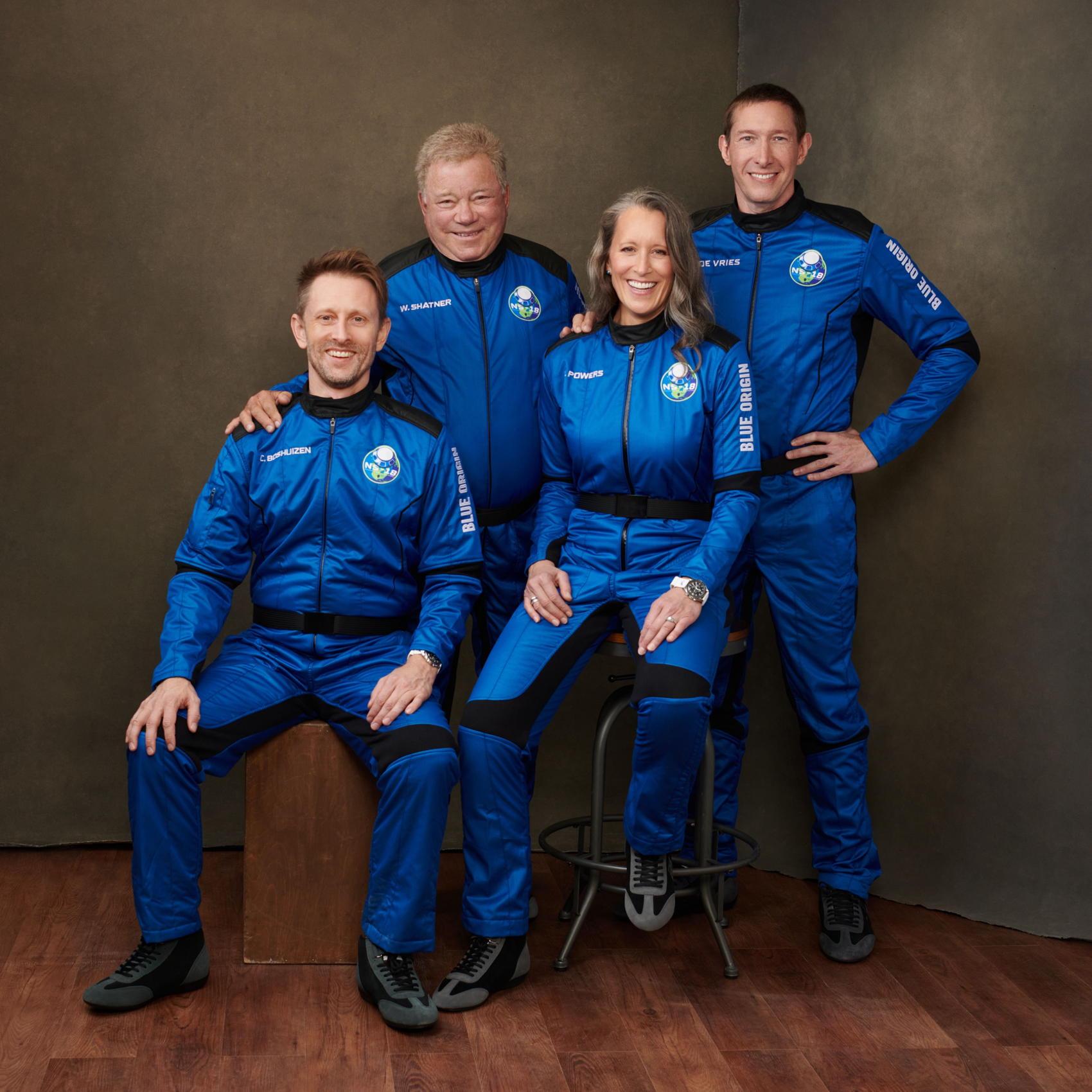 Blue Origin NS-18 Crew - Credit Blue Origin