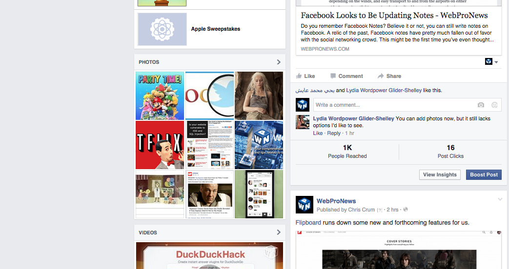 Facebook Pages Start Displaying Reach, Clicks Under Posts