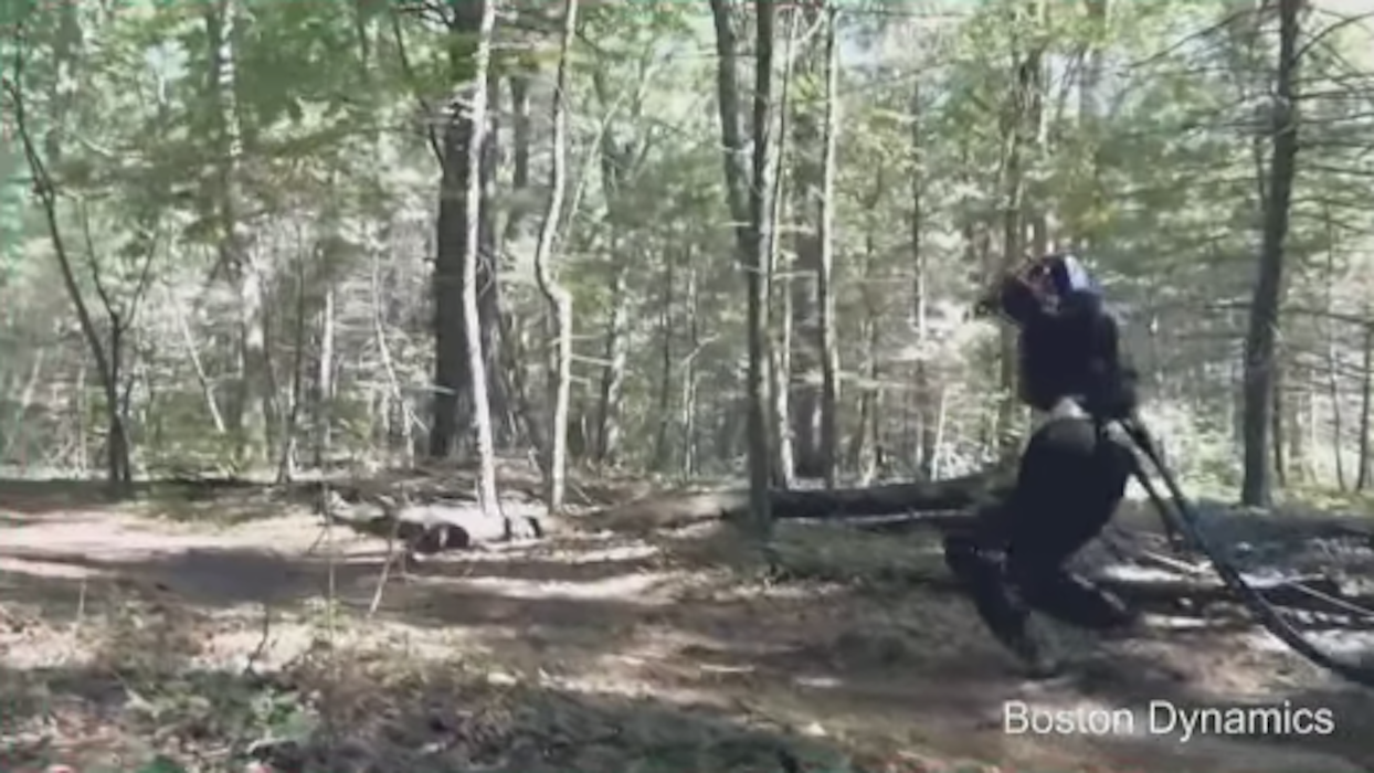Google's Humanoid Robot Can Stalk You Through the Woods Now