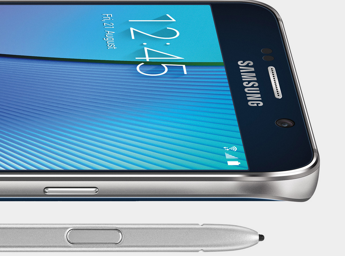 Samsung on Galaxy Note 5 Design Flaw: 'Just Don't Stick the Stylus In the Wrong Way, Guys'