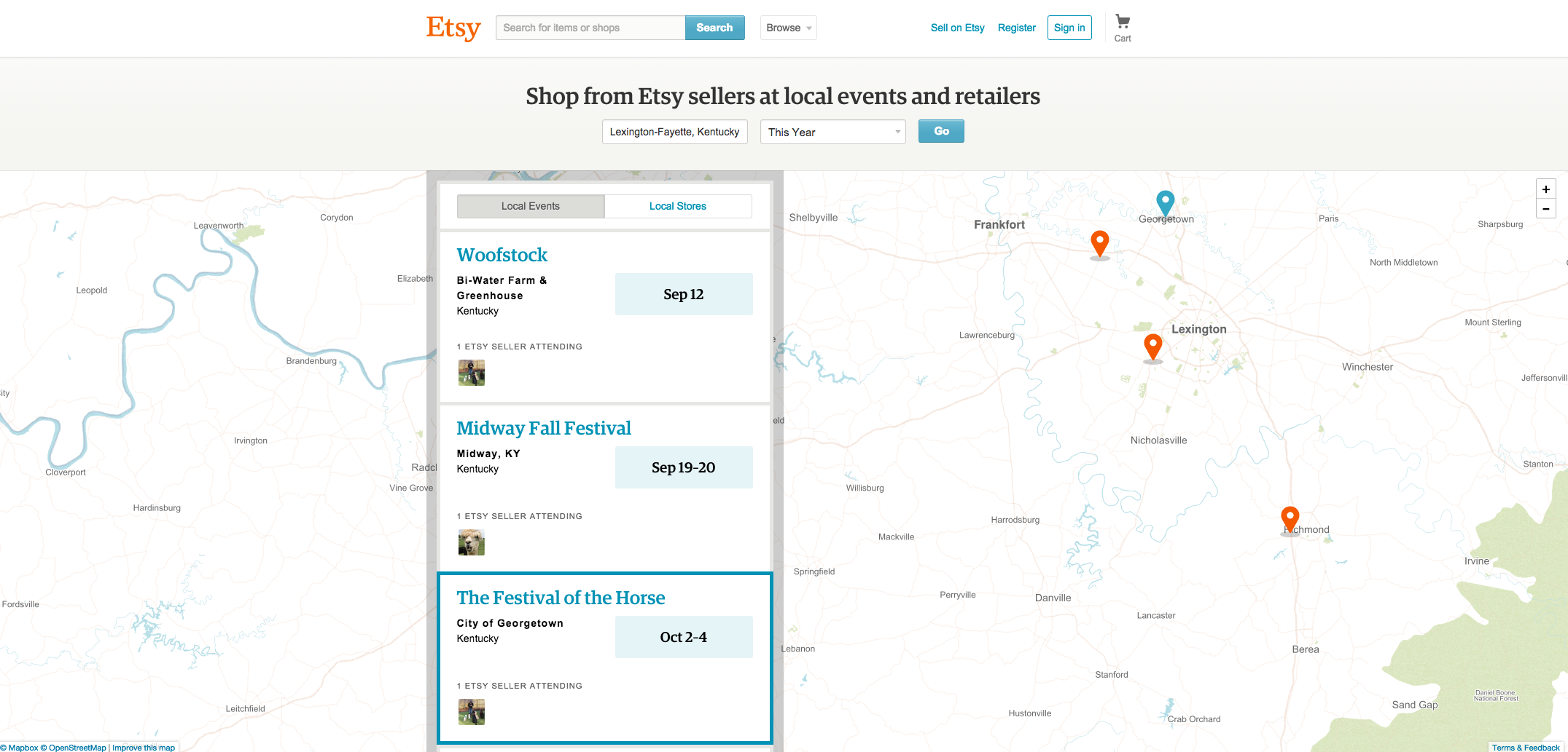 Etsy Local Now Available On Android, iOS