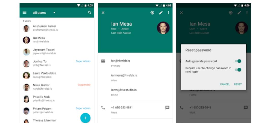 Google Admin App Gets An Update