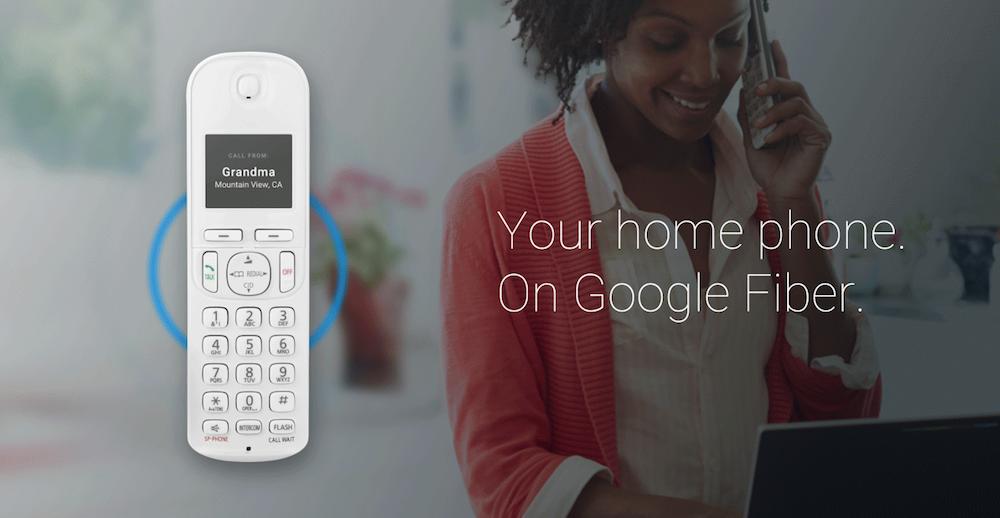 Google Fiber Phone Announced For Home Phone Service