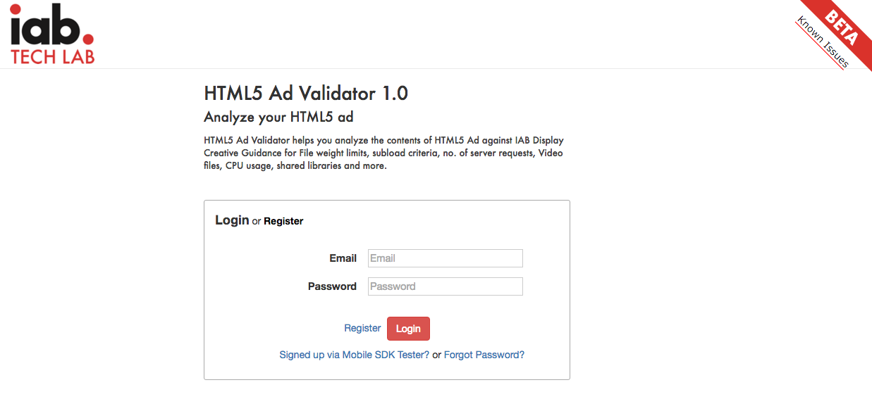 IAB Launches Simple HTML5 Ad Validator Tool