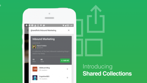 Feedly Gets More Business-Friendly with Shared Collections