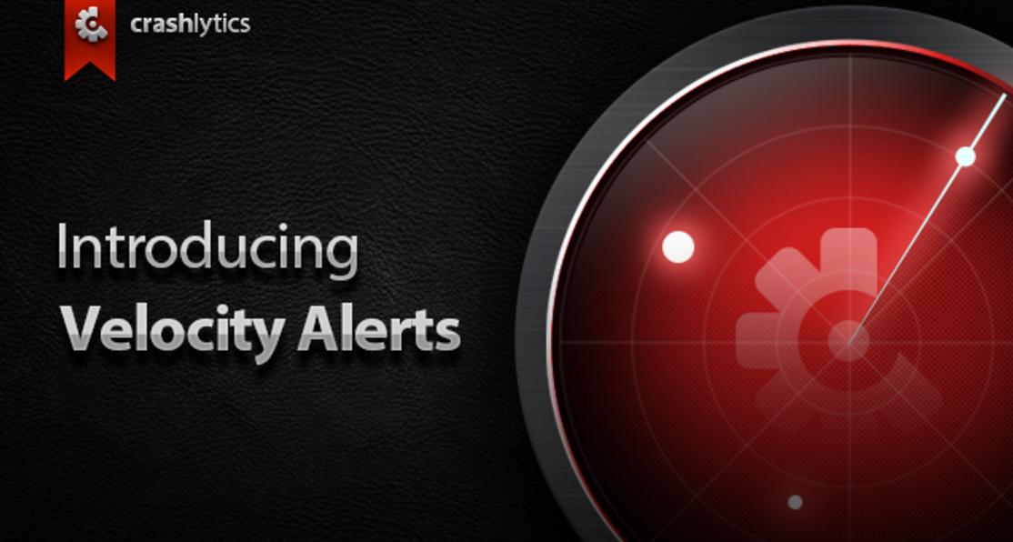 Twitter's Crashlytics Gets Velocity Alerts